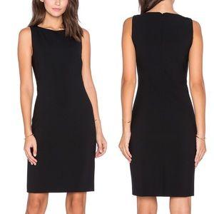 THEORY Sleeveless Fitted Betty Dress Black 2
